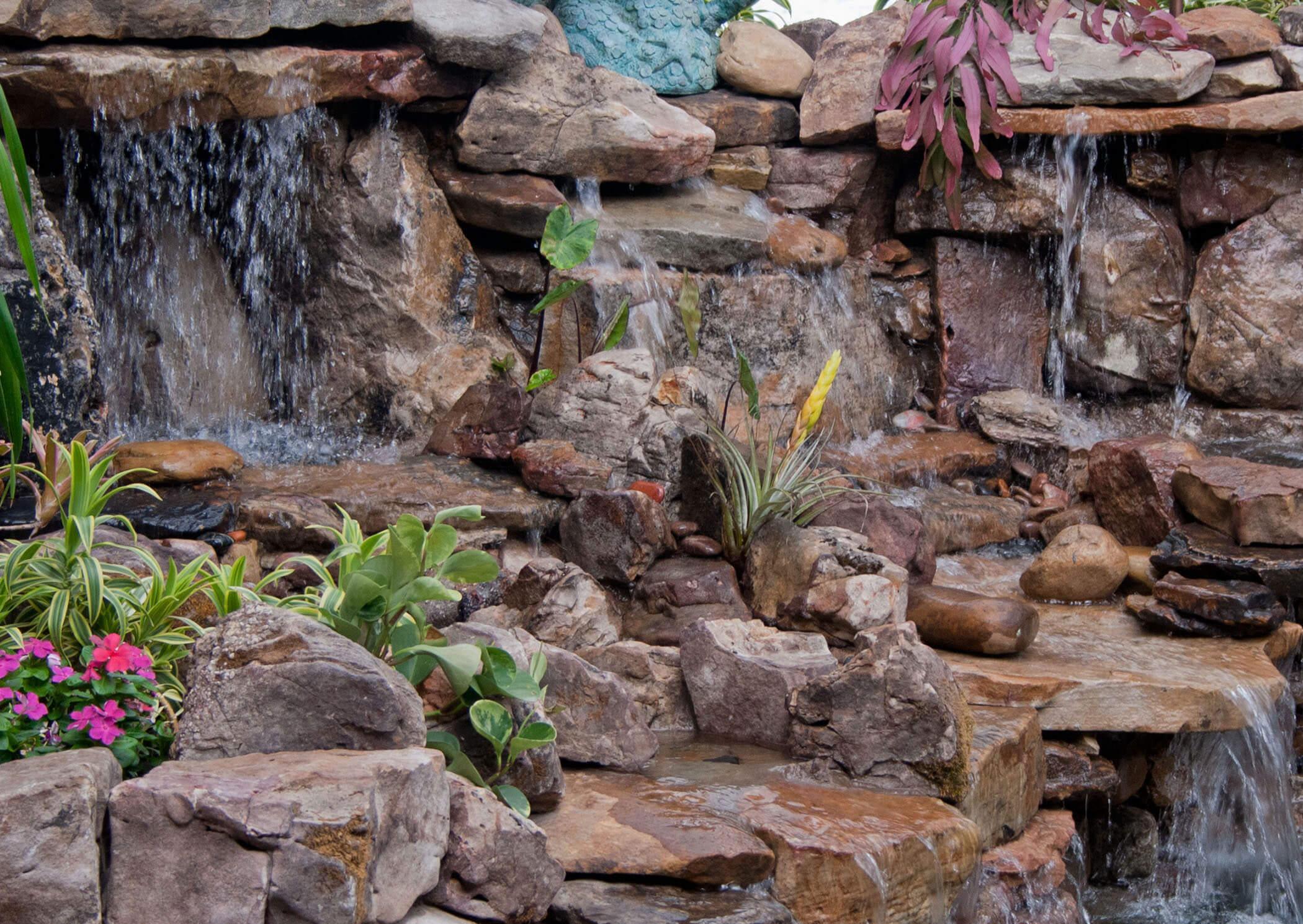 آبنما آبشاری داخلی | فروشگاه اینترنتی آریا شاپ - مرجع خرید آبنما