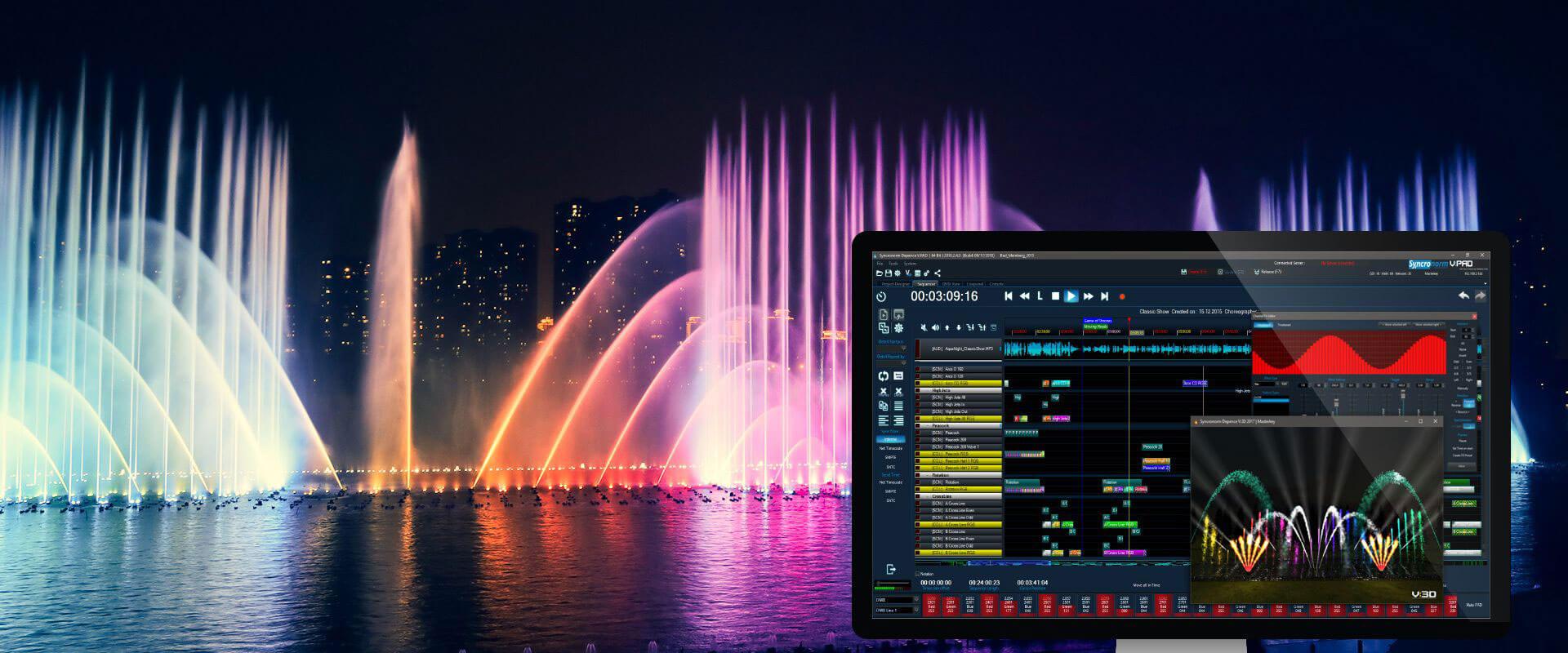 سینکرونورم - همه کاره آبنمای موزیکال شما - نازل و پمپ آبنما | آریا مگ مجله تخصصی حوزه آبنما